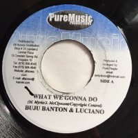 BUJU BANTON & LUCIANO / WHAT WE GONNA DO