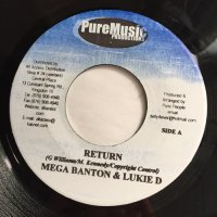 MEGA BANTON & LUKIE D / RETURN
