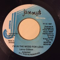 LEROY GIBBON / I'M IN THE MOOD FOR LOVE