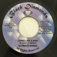 ULTIMATE SHINES / LIVING LIKE A BIRD - GEORGE NOOKS / LOVERS ROCK