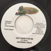 ANTHONY CRUZ / NOT GOOD FOR ME