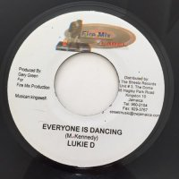 LUKIE D / EVERYONE IS DANCING - CAPTAIN BARKEY / TEN COMMANDMENT