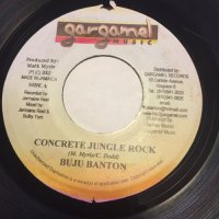 BUJU BANTON / CONCRETE JUNGLE ROCK