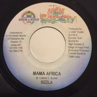 SIZZLA / MAMA AFRICA - RED RAT / ROUNG & ROUND