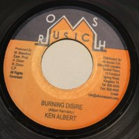 KEN ALBERT / BURNING DISIRE