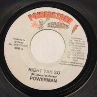 POWER MAN / RIGHT YAH SO - LEROY SMART / ROLLING