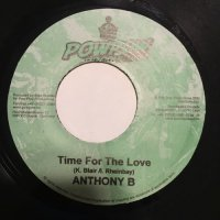 ANTHONY B / TIME FOR THE LOVE
