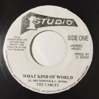 THE CABLES / WHAT KIND OF WORLD - SKATALITES / PEACE AND LOVE