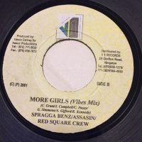 SPRAGGA BENZ, ASSASIN, RED SQUARE / MORE GIRLS