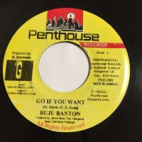 BUJU BANTON / GO IF YOU WANT