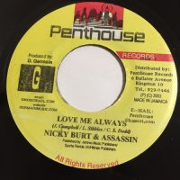 NICKY BURT / LOVE ME ALWAYS