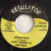 CAPTAIN BARKEY / BRAIN FOOD  - WEEK-EN / JUST N CASE