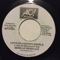 MORGAN HERITAGE / LOVE OF COMMON PEOPLE