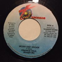 FRANKIE PAUL / MOAN AND GROAN