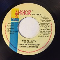 FREDDIE McGREGOR & CYNTHIA SCHLOSS / NOT AS HAPPY