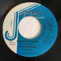 MORGAN HERITAGE / GIVE WI A LICENSE