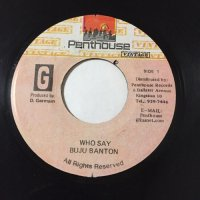 BUJU BANTON & BERES HAMMOND / WHO SAY