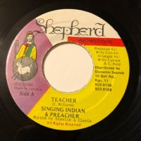 SINGING INDIAN & PREACHER / TEACHER