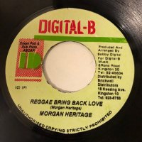 MORGAN HERITAGE / REGGAE BRING BACK LOVE