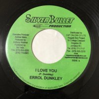 ERROL DUNKLEY / I LOVE YOU
