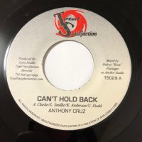 ANTHONY CRUZ / CAN'T HOLD BACK
