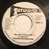 THEOPHILUS BECKFORD / TELL ME LITTLE LADY