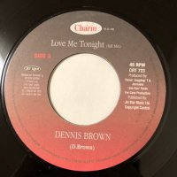 DENNIS BROWN / LOVE ME TONIGHT