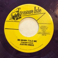 JUSTIN HINDS / MAMA TOLD ME - TRY ME