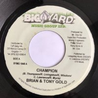 BRAIN & TONY GOLD / CHAMPION