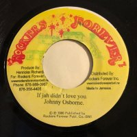 JOHNNY OSBOURNE / IF JAH DIND'T LOVE YOU