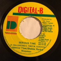 ADMIRAL TIBETT & SHABBA RANKS / SERIOUS TIME