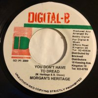 MORGAN HERITAGE / YOU DON'T HAVE TO DREAD