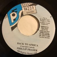 PHILLIP FRASER / BACK TO AFRICA