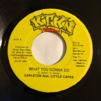 CAPLETON & LITTLE CAPES / WHAT YOU GONNA DO