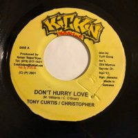 TONY CURTIS & CHRISTOPHER / DON'T HURRY LOVE