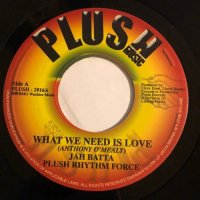 JAH BATTA / WHAT WE NEED IS LOVE