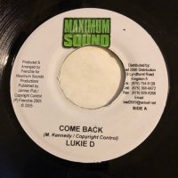 LUKIE D / COME BACK