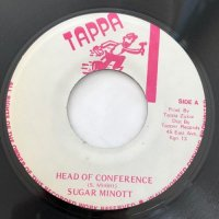 SUGAR MINOTT / HEAD OF CONFERENCE