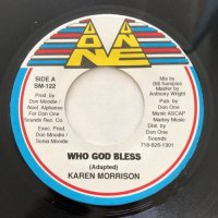KAREN MORRISON / WHO GOD BLESS