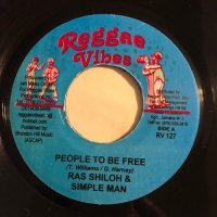 RAS SHILOH / PEOPLE TO BE FREE - DONNA V / PRESS ON