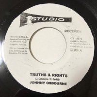 JOHNNY OSBOURNE / TRUTH & RIGHTS - LET ME IN