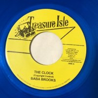 SILVERTONES / RAINDROPS - BABA BROOKS / THE CLOCK