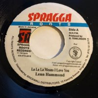 LENN HAMMOND / LA LA LA MEANS I LOVE YOU