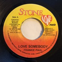 FRANKIE PAUL / LOVE SOMEDOBY - LADY HYPE / LOVE YOU SO