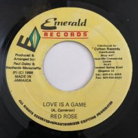 ANTHONY RED ROSE / LOVE IS A GAME