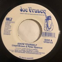 LLOYD BROWN & PETER SPENCE / KNOW YOURSELF