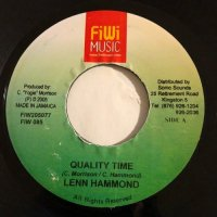 LENN HAMMOND / QUALITY TIME