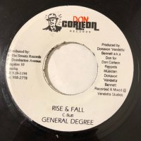 GENERAL DEGREE / RISE & FALL
