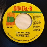 WARRIOR KING / LOVE JAH MORE