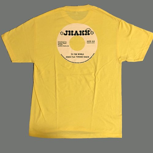 JHAKX feat. YARDIES SHACK RECORDS / VINYL TEE